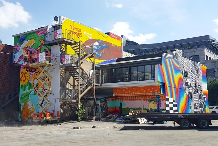 Mural Festival 2016 - All the creations from the street art festival of Montreal