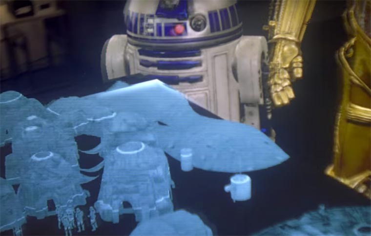 Star Wars enters your living room thanks to augmented reality