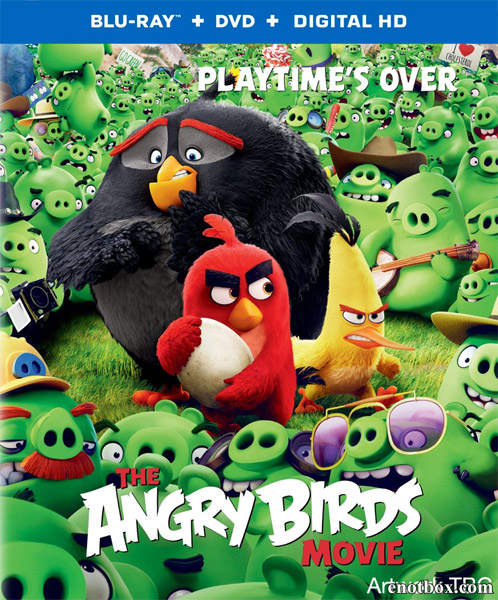 Angry Birds в кино / The Angry Birds Movie (2016/BDRip/HDRip/3D)
