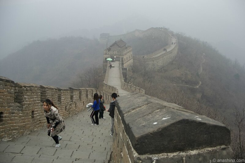 Мутяньюй, Великая китайская стена
