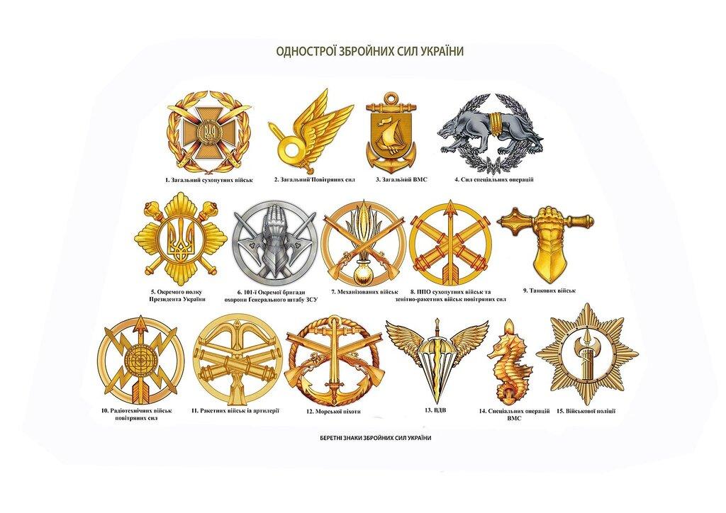 Новые знаки различия и форма ВСУ. Полная версия