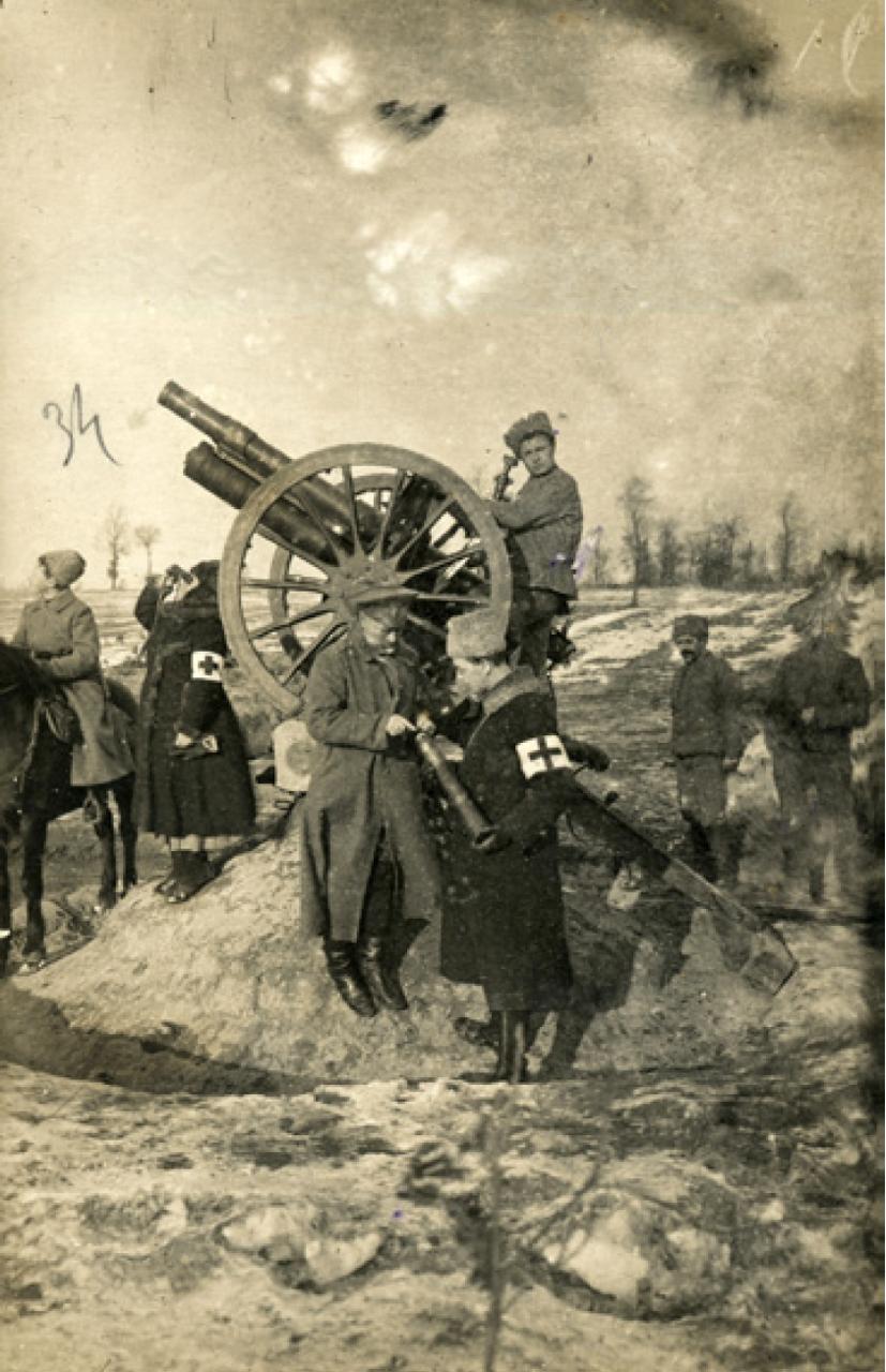 115. 1915. Инструктор-артиллерист. Минская губерния