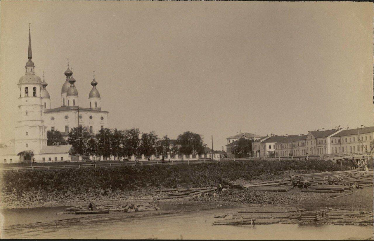 Архангельск. Собор и вид на реку