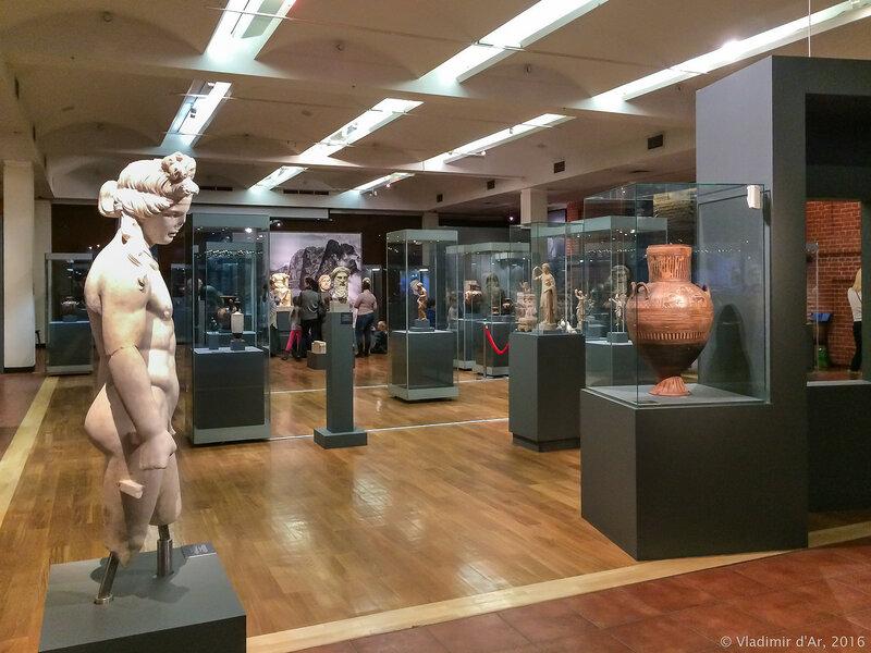 Выставка - Боги и герои Древней Греции