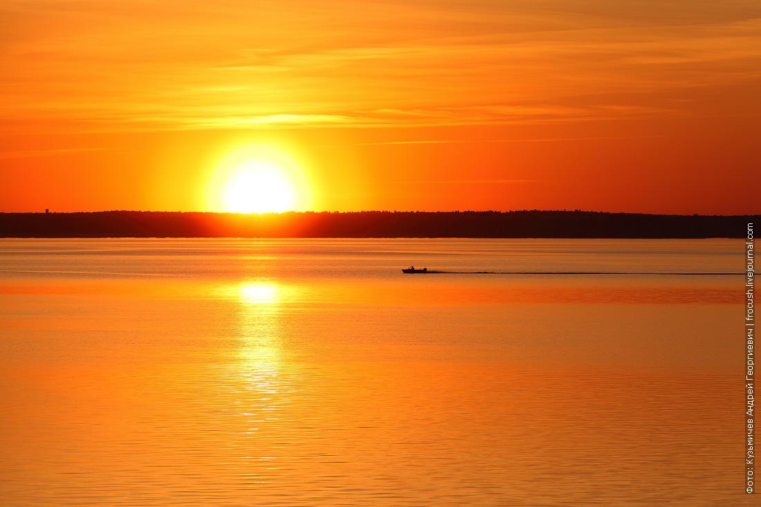 Волга закат