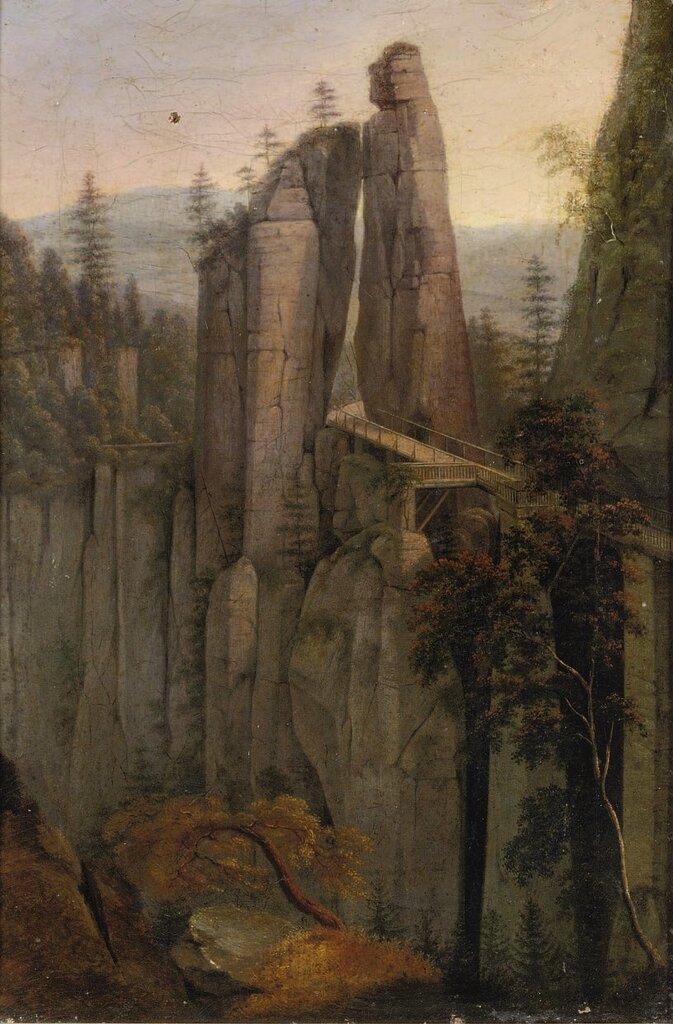 Ernst_Ferdinand_Oehme_-_Eine_Brücke_in_der_Sächsischen_Schweiz.jpg