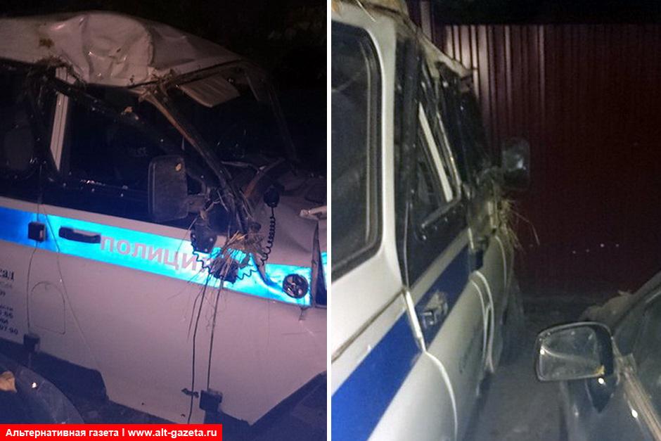 Проблемы многодетной после ДТП с полицейским авто