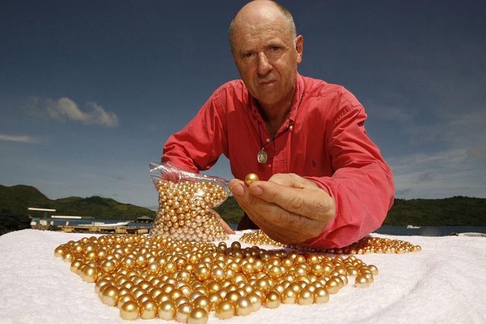 Золотой жемчуг Jewelmer