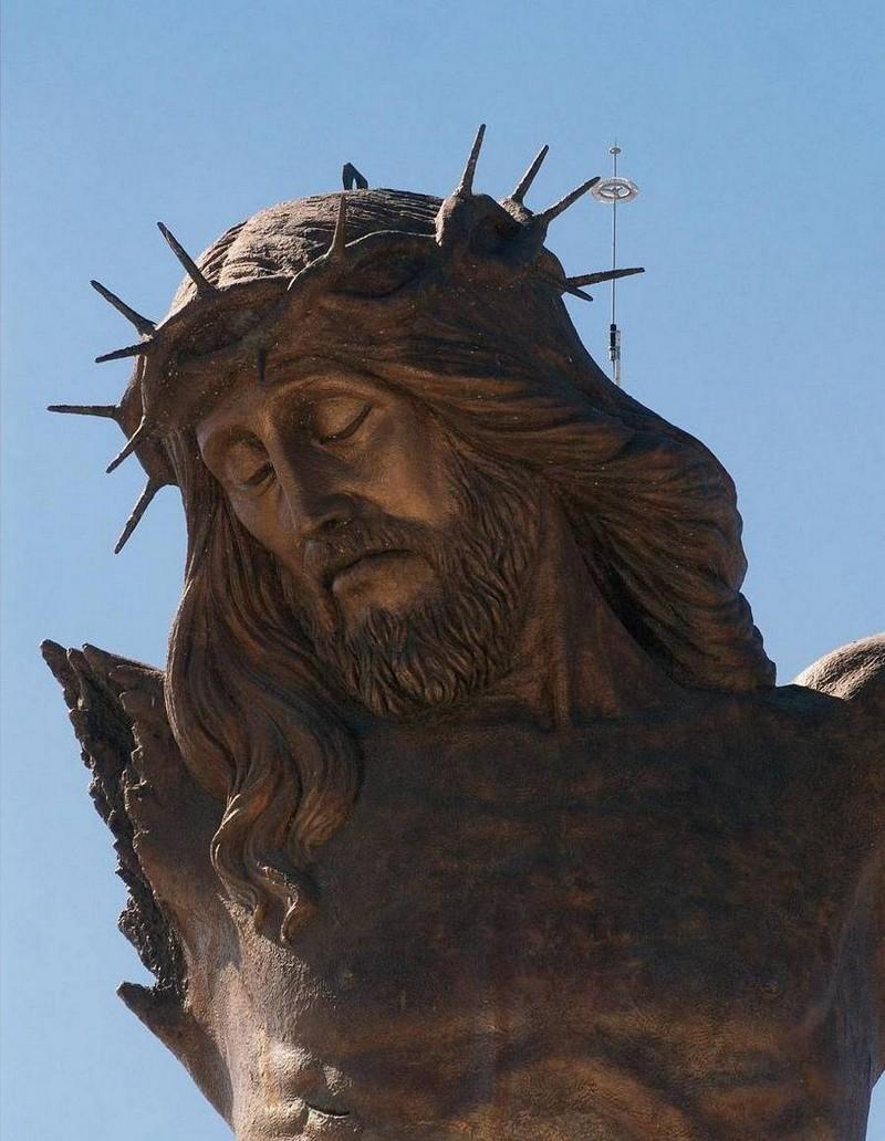 Разбитый Христос (фрагмент) – Мексика, 25 метров