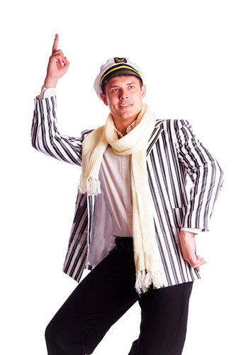 Мужской карнавальный костюм Остап Бендер