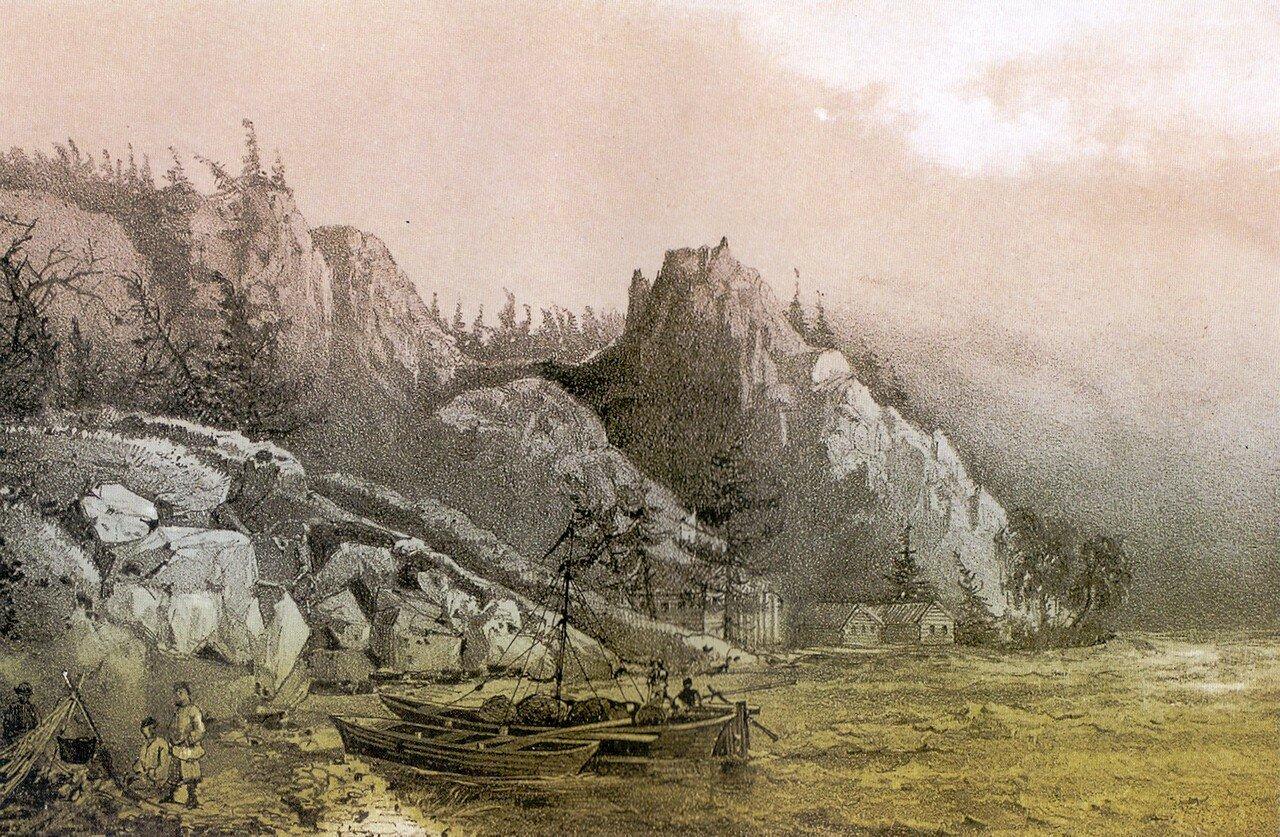 92Золотодобывающий рудник А В. Белоголового в пади Сенная на западном берегу реки Байкал. Нем под вопр.jpg