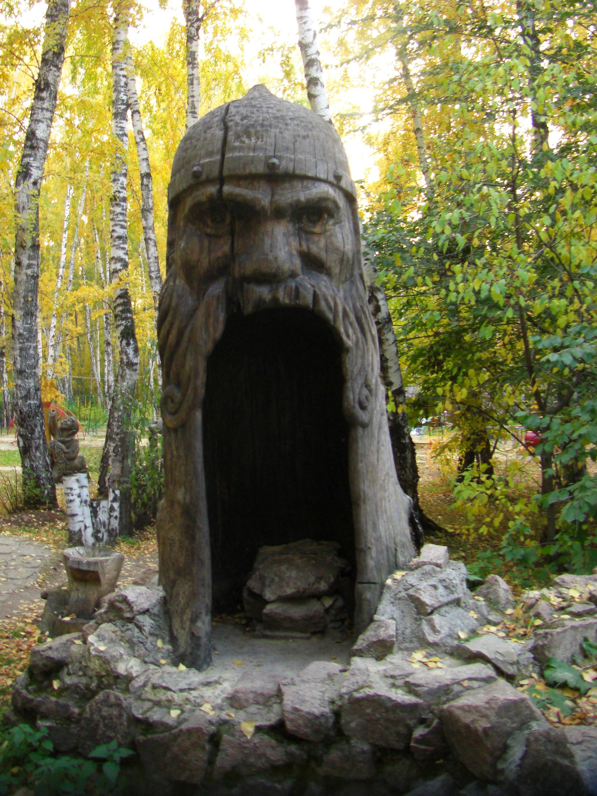 Дядька Черномор (или просто богатырь) (18.10.2014)
