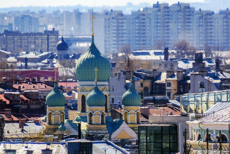 Санкт-Петербург с высоты