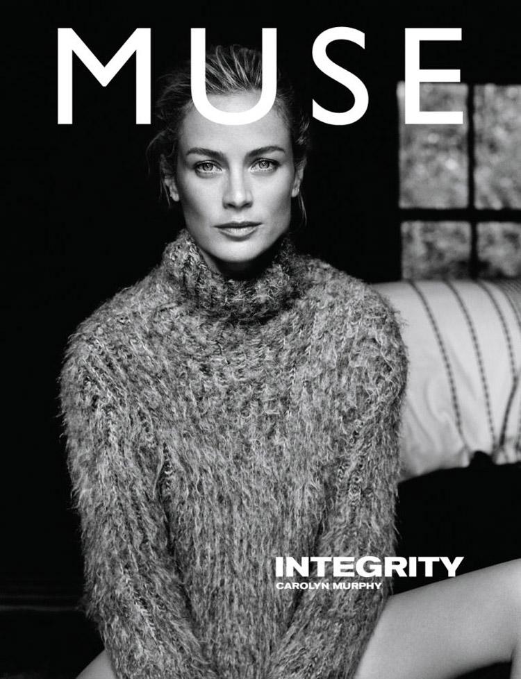 Кэролин Мерфи (Carolyn Murphy) в журнале Muse