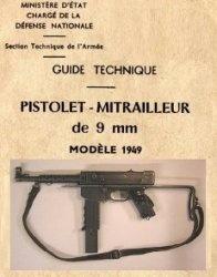 Pistolet - Mitrailleur de 9 mm. modele 1949