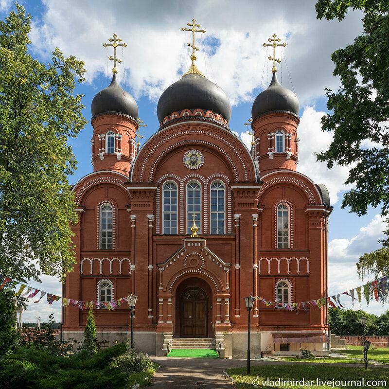 Кресто-воздвиженский монастырь. Собор Вознесения Господня.