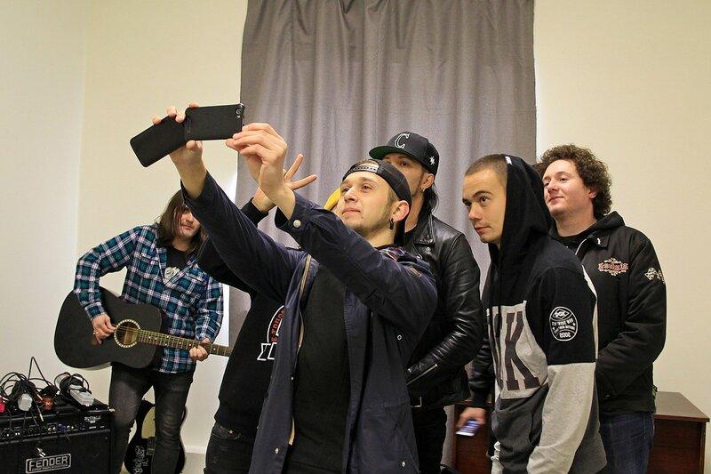 Louna в школе рока Rock Stars School в Кирове: себяшечки