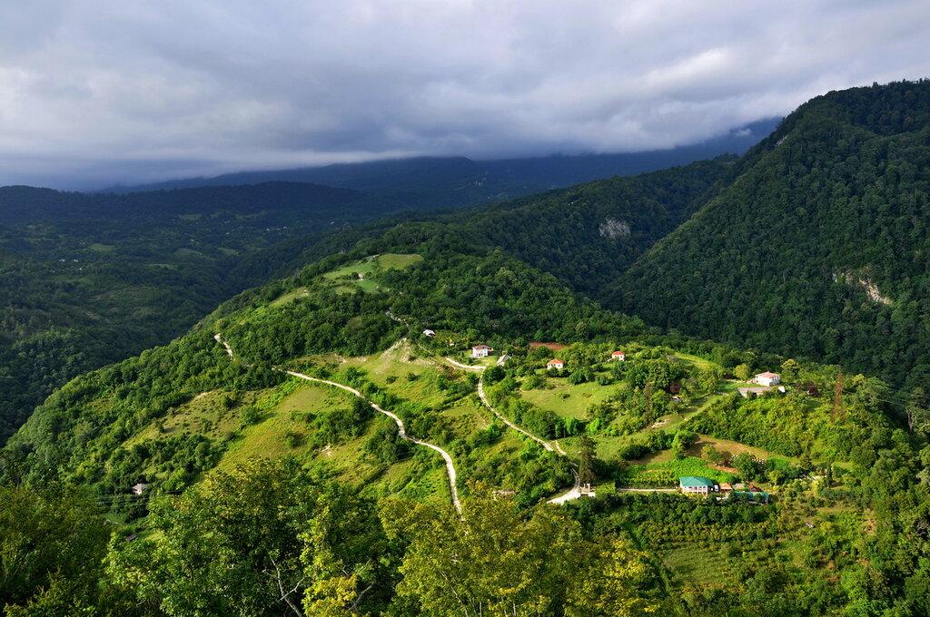 Абхазия. Вид с Анакопийской крепости