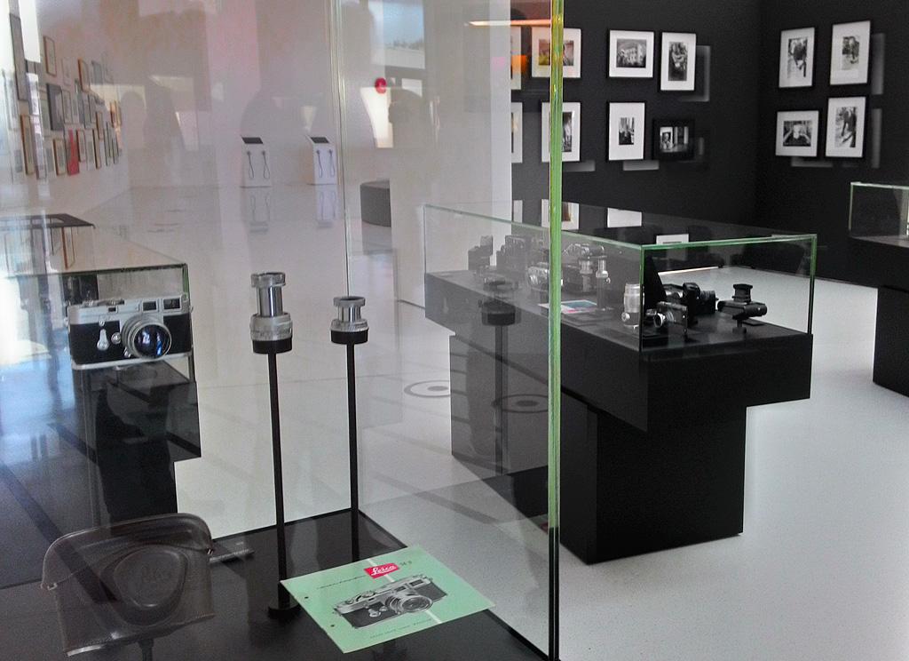 3. В музее фотоаппаратов и техники Leica