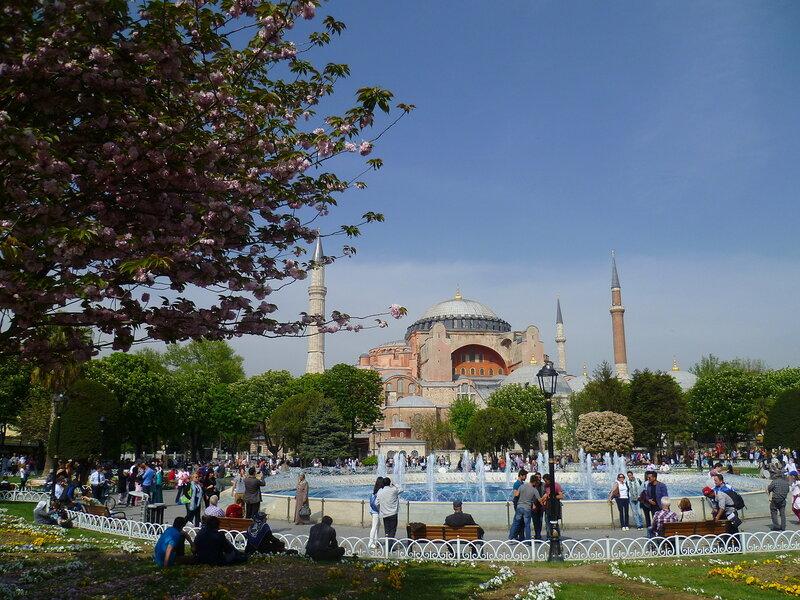 Стамбул, Айя-София (Istanbul, Hagia Sophia)