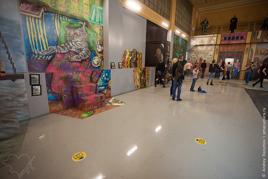 Музей иллюзий и дом великана