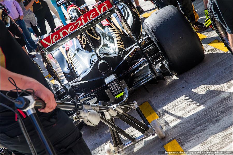Пит-стопы в Формуле-1