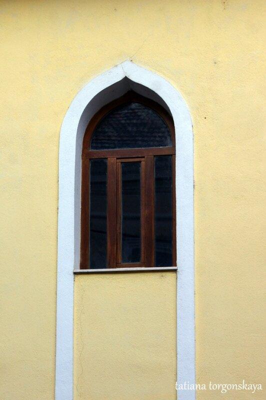 Окно мечети