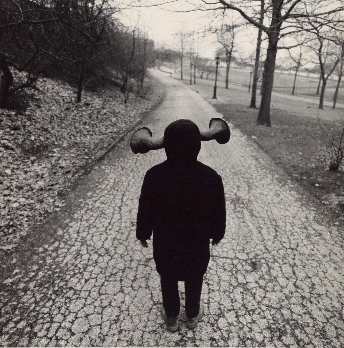 1970. Мальчик со странными ушами, Риверсайд-парк. Нью-Йорк