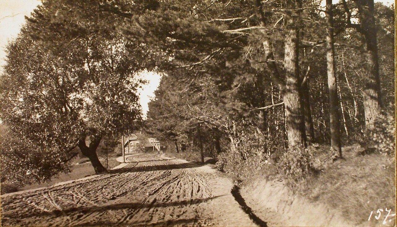 30. Вид части дороги, ведущий к р. Аа от штаба XII армии