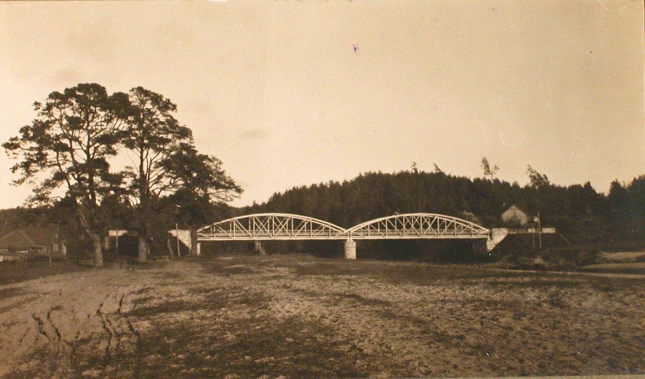 35. Вид моста через р. Аа