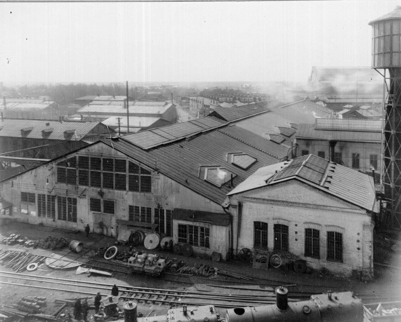 06. Вид на корпуса Путиловского завода
