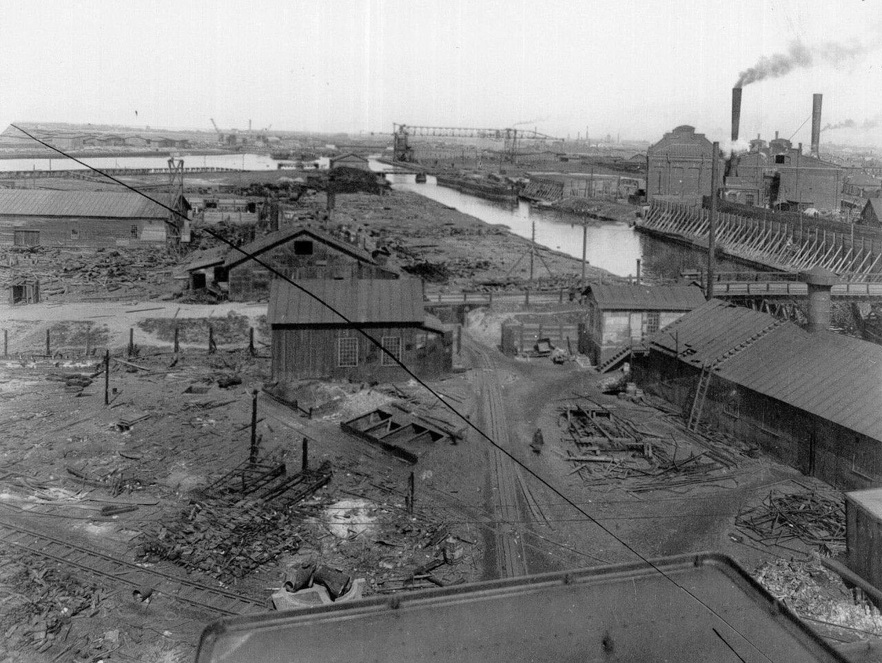 08. Вид на корпуса Путиловского завода