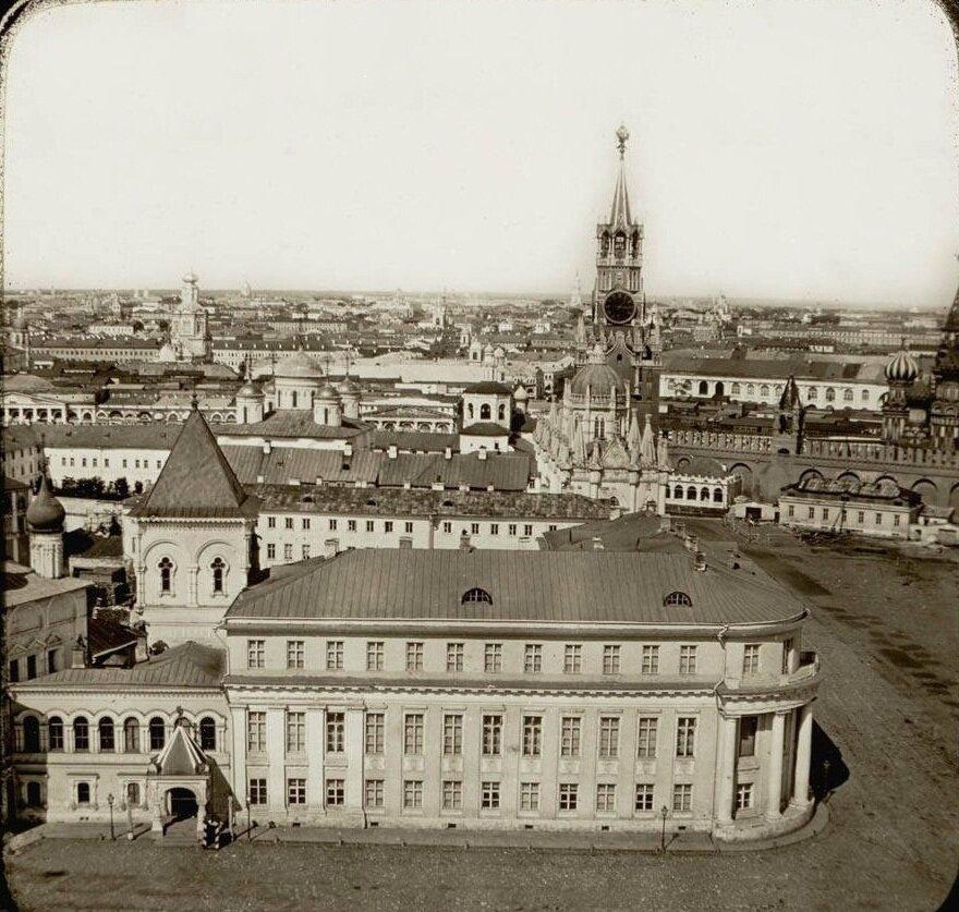 237. Вид с колокольни Ивана Великого. 1870-е