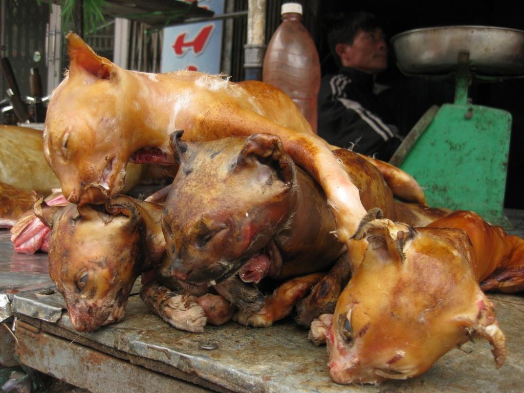 Деликатесы на вьетнамском рынке