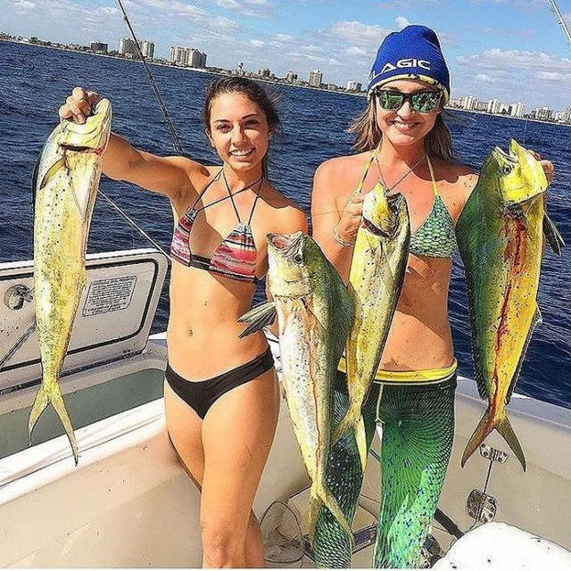 Сексуальные рыбачки