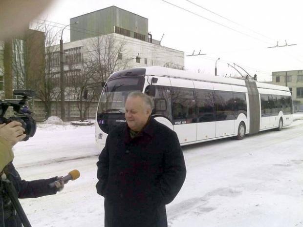 В Ровно появился новый общественный транспорт - дуобус