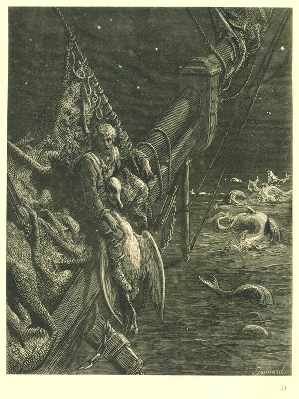 samuel taylor coleridges the rime of the ancient mariners resemblance to john miltons paradise lost