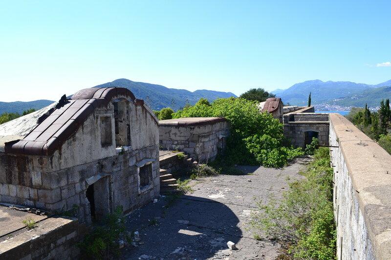 Форт Кабала на Луштице