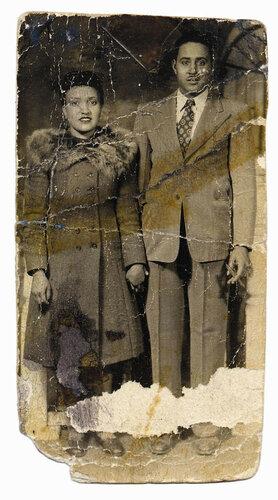 Генриетта Лакс с мужем Дэвидом
