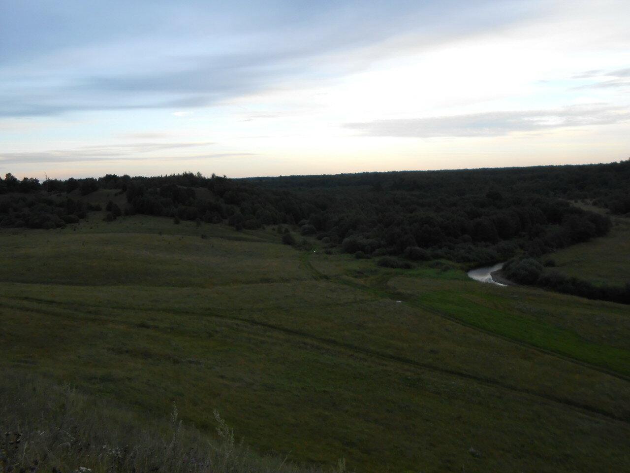 Вид с горы Княжна