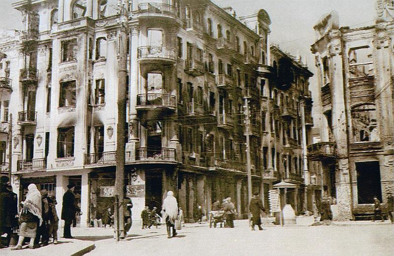 ул. Ленина в Виннице в 1944-м году