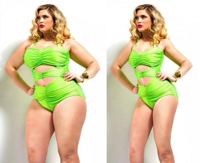 Проект Thinner Beauty борется с «пропагандой ожирения» с помощью фотошопа
