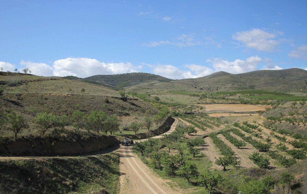 Западный Арагон, ландшафт