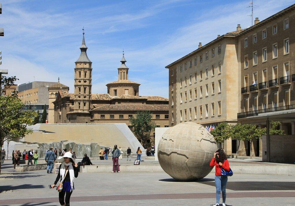 Pilar square (Plaza del Pilar), Zaragoza
