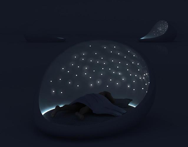В не столь отдаленном будущем наши высокотехнологичные кровати могли бы функционировать как дома