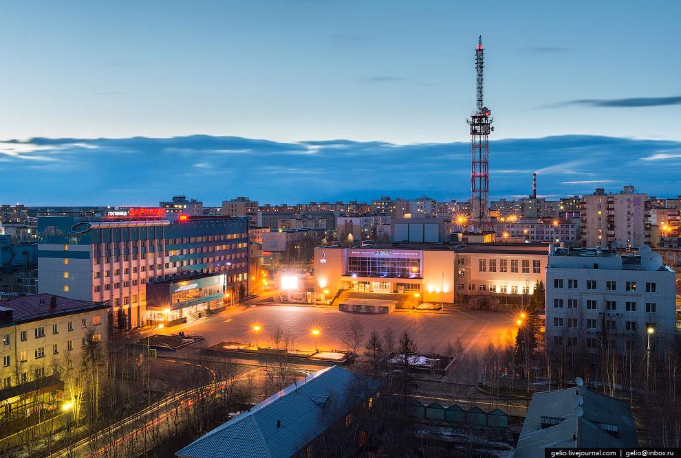 Площадь Ленина — центр города:
