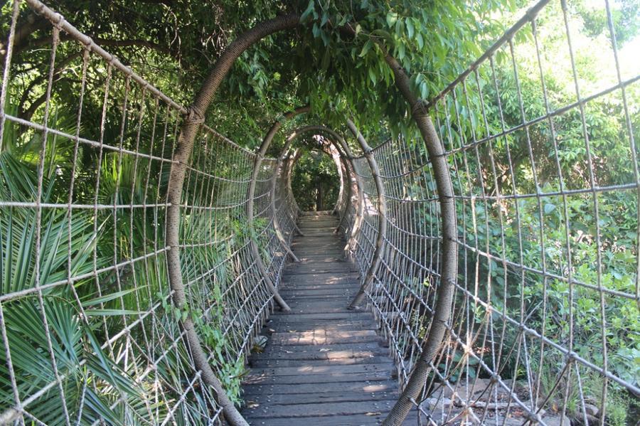 18. Паучий мост Сан-Сити, ЮАР