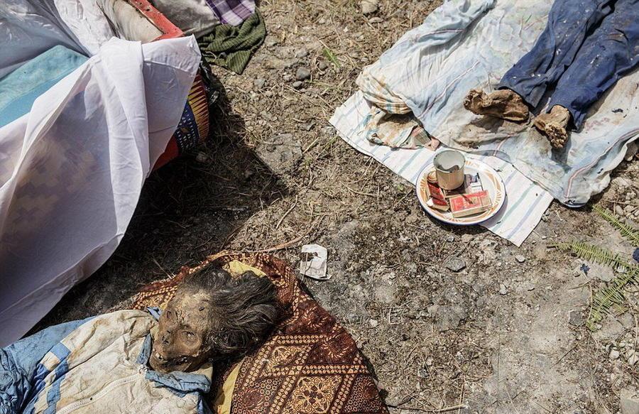 8. Умершие у тораджи считаются «заболевшими» или «уснувшими».