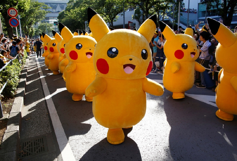 Парад покемонов в Японии (19 фото)