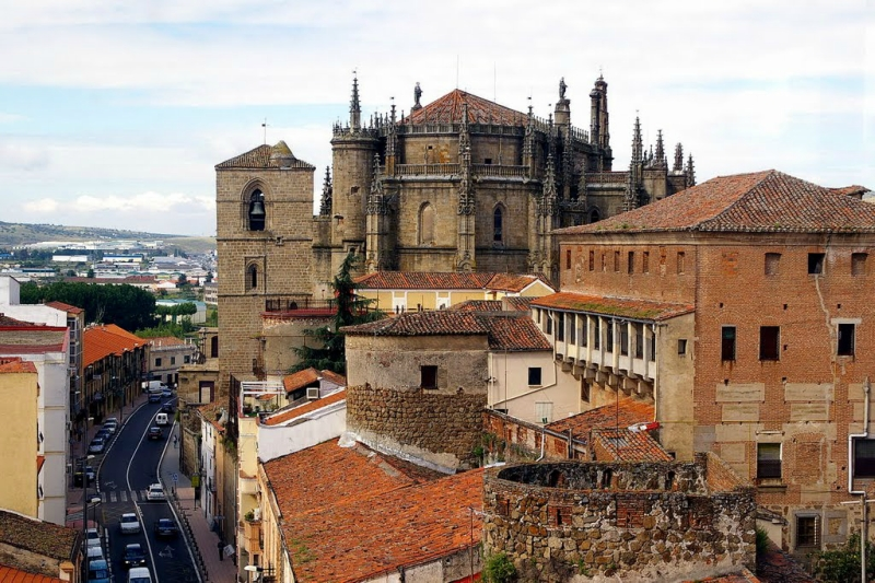 Интересные города Испании: Касерес